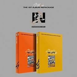 Stray Kids - 1st Regular Repackage [in生 In Life] Standard Edition W/ Photocard
