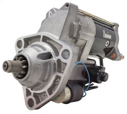 Denso R Starter 12 Volt 10 Tooth Fits Freightliner And Western Star W/dd13 Engines