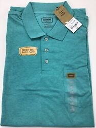 Mens The Foundry Supply Company Polo Shirt Size LT. Quick dri. Large Tall.