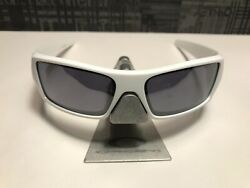 OAKLEY GASCAN POLISHED WHITE FRAME ONLY $50.00