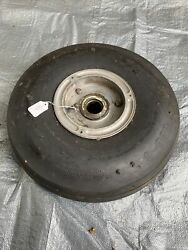 Air Hawk Tire/cleveland Wheel 6.00x6 Removed From Piper Pa-28-161 Fits Cherokee