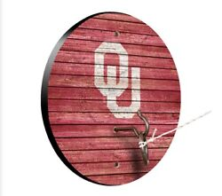 Oklahoma Sooners Ou Tiki Toss Hook And Ring Game Tailgate Xmas Gift