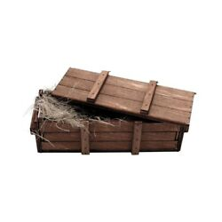 116 Torro Rc Tank One Wooden Ammo Crate Box Accessories A