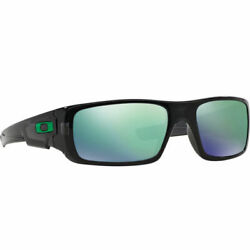 New Oakley Sunglasses Crankshaft OO9239 02 Black Ink Jade Iridium Fast Ship $69.99