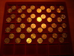 Dealers Lot Israel 1 Agora Km 156 X 48 Xf- Unc Coins  Coin