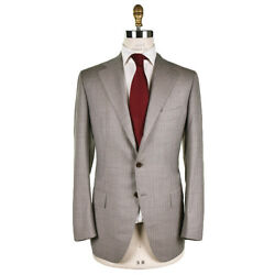 New Cesare Attolini Suit 100 Wool 150and039s Size 40 Us 50 Eu Drop 7r Sat113
