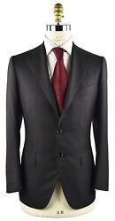 New Cesare Attolini Suit 100 Wool 160and039s Sz 46 Us 56 Eu 7r 18avw12