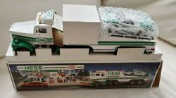1991 Hess Toy Truck And Racer Car Original Box Never On Display X362