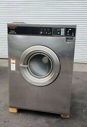 Speed Queen Front Load Washer Coin Op 80lb 3ph 200 240v Serial 0509997762