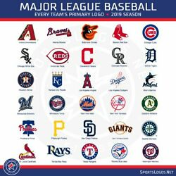 2021 Mlb Baseball Teams Schedule Magnets 5 X 3.5choose From List