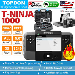 Topdon Key Programmer Immobilizer Immo Key Program Add Erase Keys All Keys Lost