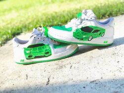 Nike Air Force 1 Custom Lamborghini $90.00