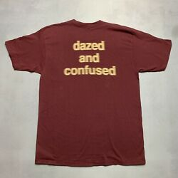 Vintage Dazed And Confused Movie Promo Shirt Blurry Stoner Over The Edge Single