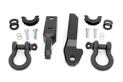 Rough Country Gm Tow Hook Shackleconversion Kit D-ring 88-98 C1500 K1500