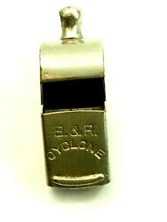 Vintage Military Police Trench B And R Cyclone Whistle