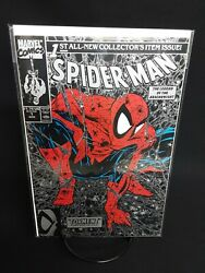 Spider Man #1 Black Comic Book
