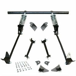 1930 Ford Model A Triangulated 4-link Kit W/ Rear Crossmember And 200lb Coilovers