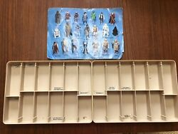 Vintage 1977 Lot Of 2 Star Wars Mail Away Action Figure Display Stand 24 Total