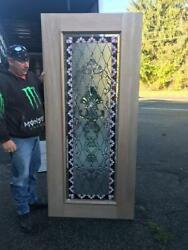 Beautiful Hand Made Stained Glass Interior Or Exterior Door - Jhl2167-70