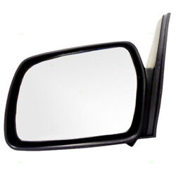 89-98 Sidekick 2-door Mirror Manual Non-folding Smooth Paintable Lh Driver Side