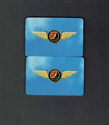 Alaska Airlines Cities Swap Vintage Playing Cards 2 Individual Cards
