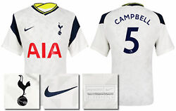 2020 2021 Bnwt Nike Spurs Home Shirt Campbell 5 = Kid's Sizes
