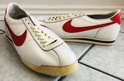 1980s Nike Cortez Vintage Running Shoes- New Without Box