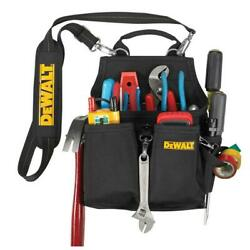 Dewalt-dg5680 14 Pocket Professional Electricianand039s Tool Pouch    ...