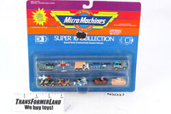 Super 10 Collection Sealed Mosc Gift Sets 1990 Vintage Galoob Micro Machines