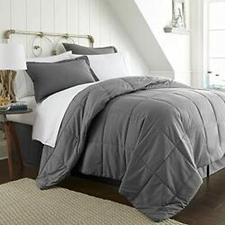 Simply Soft Bed In A Bag Full Gray