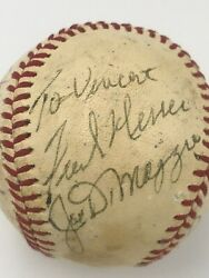 One-of-a-kind Signed Baseball Pres.nixon Dimaggio Maris Willie Nelson+ Jsa