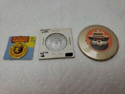 Vintage Smokey The Bear Only You Can Prevent Forest Fire Token And Pin Lot Of 3