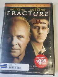 Fracture Dvd 2007 Widescreen Anthony Hopkins Ryan Gosling...121