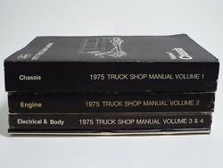 Ford 1975 Truck Shop Manuals Volume 1-5 Factory Manual