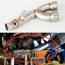 Remove Cat for Yamaha R6 YZF R6 R6S Motorcycle Exhaust Pipe Slip On 2006 2020