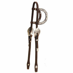 Tory Leather Tory Silver Rochester Double Ear Headstall $218.74