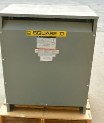 Square D Ee75t3h 3 Phase 75 Kva Dry Transformer 480-208y/120 Refurbished