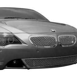 Tgbwe6364-02 Chrome Grille Kit For 2010-2014 Bmw 6-series 2-dr Coupe