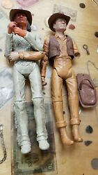 Vintage Johnny West Geronimo Marx Toys Action Figures Dolls + Accessories