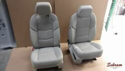 2019 Escalade Driver And Passenger Tan Leather Seat Set 2007821