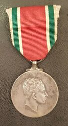 Iraq King Faisal Ii Coronation Silver Medal Mint Condition 1953 5000 Issued