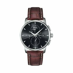 Mido Baroncelli Automatic Movement Black Dial Menand039s Watch M860741882