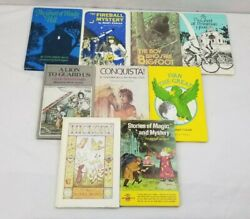 9 Vintage Weekly Readers Books Fireball Mystery Conquista Hickory Magic