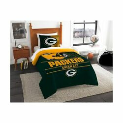 The Northwest Company Nfl Unisex Twin Comforter And Sham Set Green Bay Packers