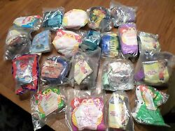 Mixed Lot Of 21 Burger King And Mcdonald Kid Meal Toys Barbie Rugrats Etc Vintage