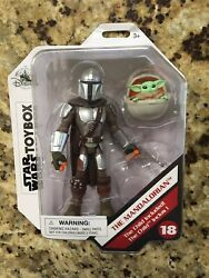 Disney Store Exclusive Toybox Star Wars The Mandalorian amp; Baby Yoda Child Figure $34.95