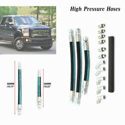 For Ford 7.3l Powerstroke 99-03 High Pressure Oil Pump Hoses Crossover Lines Set