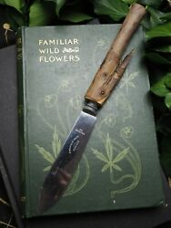 English Yew Wood Athame - Dark Goddess - Wiccan Ritual Knife- Pagan, Witchcraft