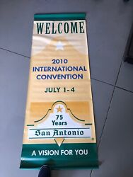 Aa Banner Sign