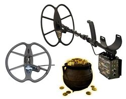 Detech Relic Striker Pro Pack Professional Metal And Gold Detector With 2 Coils